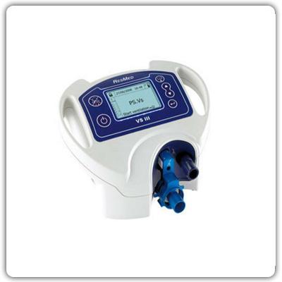 VS - III Aναπνευστήρας πίεσης και όγκου